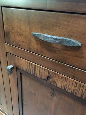 Rust drawer pull