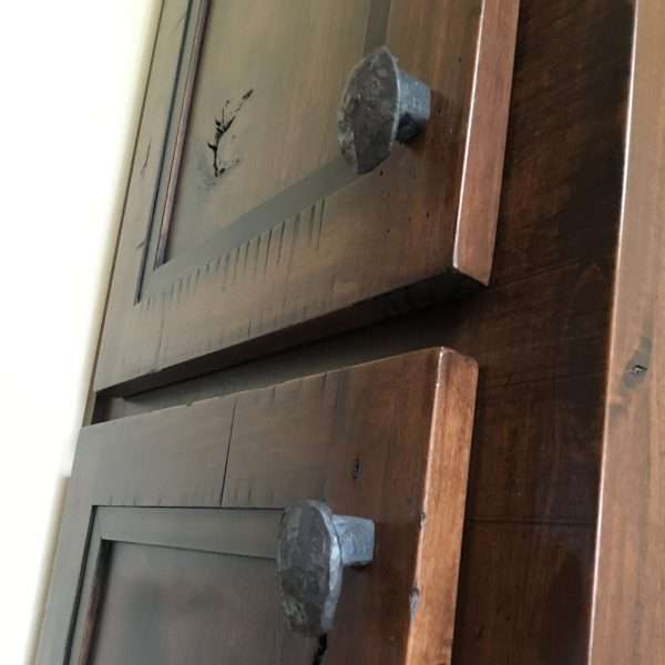 railroad spike cabinet pull
