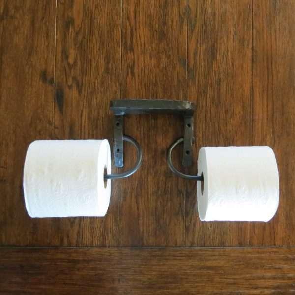 dual toilet paper holder