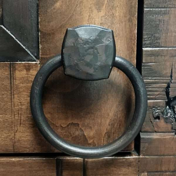 Square Knob Finger Ring